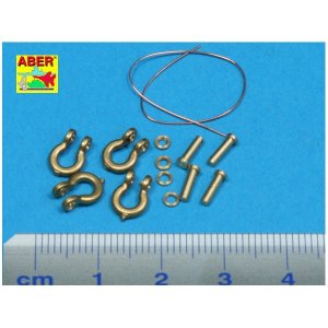 Scale: 1/35 Shackle for russian tanks KV-1&KV-2 x4 pcs · AB R-18 ·  Aber · 1:35