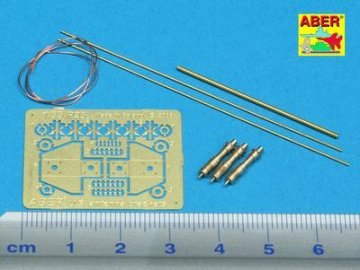 US antenna & brackets (set of 3 pcs,) · AB R-25 ·  Aber · 1:35