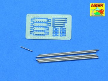 Barrel cleaning rods with brackets for Tiger I Tunisia · AB R-41 ·  Aber · 1:35