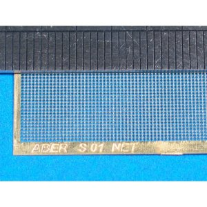 Nets and drilled plates  (18 models - 80x45 mm) · AB S01 ·  Aber