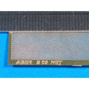 Nets and drilled plates  (18 models - 80x45 mm) · AB S05 ·  Aber