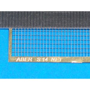 Nets and drilled plates  (18 models - 80x45 mm) · AB S14 ·  Aber