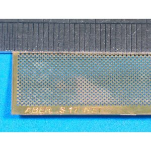 Nets and drilled plates  (18 models - 80x45 mm) · AB S17 ·  Aber