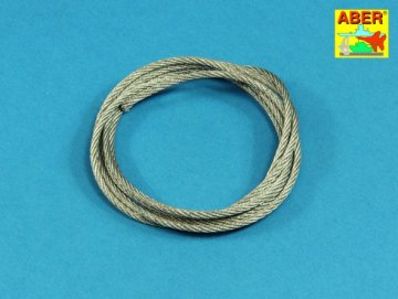 Stainless Steel Towing Cables fi 2.5mm. 125 cm long · AB TCS25 ·  Aber