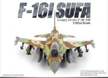 F-16 TWIN SEAT · AY 12105 ·  Academy Plastic Model · 1:32