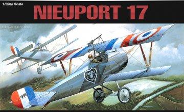 Nieuport 17 · AY 12110 ·  Academy Plastic Model · 1:32
