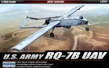 RQ-7B UAV SHADOW DRONE · AY 12117 ·  Academy Plastic Model · 1:35