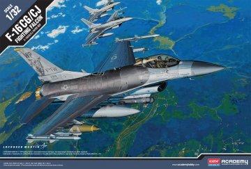 F-16CG/CJ Fighting Falcon - Limited Edition · AY 12123 ·  Academy Plastic Model · 1:32