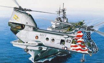 CH-46D Sea Knight · AY 12207 ·  Academy Plastic Model · 1:48