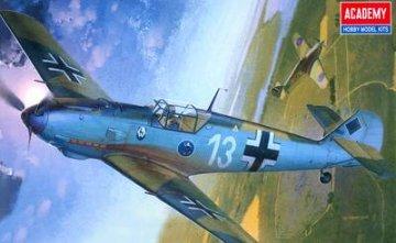 Messerschmitt Bf 109 E-3 ´Heinz Bär´ · AY 12216 ·  Academy Plastic Model · 1:48