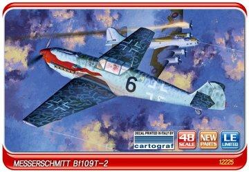 Messerschmitt Bf 109 T-2 · AY 12225 ·  Academy Plastic Model · 1:48