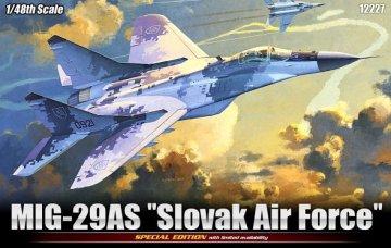 MIG-29AS Slovak Air Force · AY 12227 ·  Academy Plastic Model · 1:48