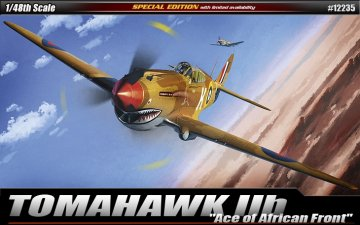 P-40C Tomahawk IIB ´Aces of African Front´ · AY 12235 ·  Academy Plastic Model · 1:48