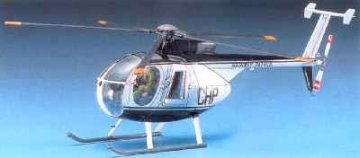 Hughes 500D - Police · AY 12249 ·  Academy Plastic Model · 1:48