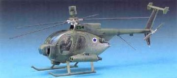Hughes 500D - TOW · AY 12250 ·  Academy Plastic Model · 1:48