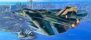 F-111C Aardvark · AY 12254 ·  Academy Plastic Model · 1:48