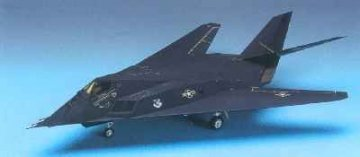F-117A Stealth Fighter · AY 12265 ·  Academy Plastic Model · 1:48