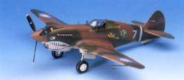 P-40C Tomahawk · AY 12280 ·  Academy Plastic Model · 1:48