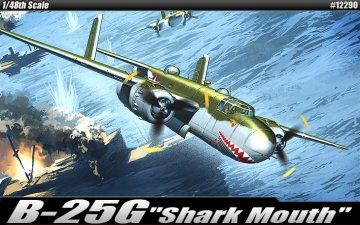 B-25 G - Shark Mouth · AY 12290 ·  Academy Plastic Model · 1:48