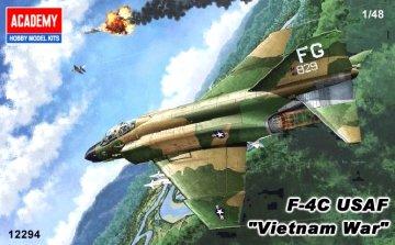 F-4C Phantom Vietnam War · AY 12294 ·  Academy Plastic Model · 1:48