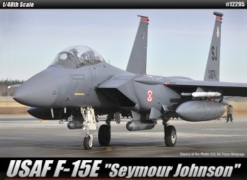 F-15E Strike Eagle · AY 12295 ·  Academy Plastic Model · 1:48