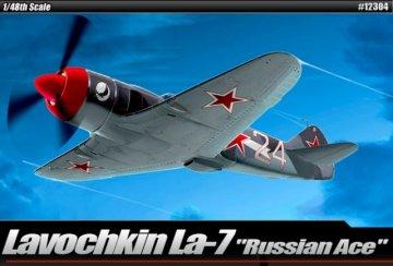 Lavovhkin LA-7 · AY 12304 ·  Academy Plastic Model · 1:48
