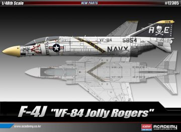 F-4J ´VF-84 JOLLY ROGERS´ · AY 12305 ·  Academy Plastic Model · 1:48