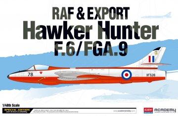 RAF & Export Hawker Hunter F.6/FGA.9 · AY 12312 ·  Academy Plastic Model · 1:48