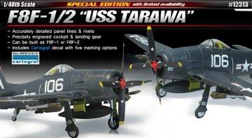 F8F-1/2 USS Tarawa · AY 12313 ·  Academy Plastic Model · 1:48