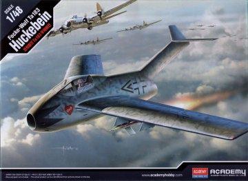 Focke Wulf Fw Ta-183 Huckebein · AY 12327 ·  Academy Plastic Model · 1:48
