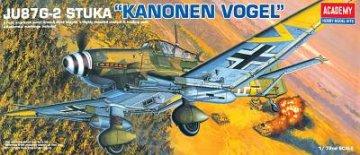 Junkers Ju 87 G-2 Stuka · AY 12404 ·  Academy Plastic Model · 1:72