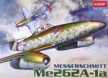 Messerschmitt Me 262 A-1a · AY 12410 ·  Academy Plastic Model · 1:72