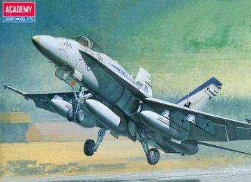 F/A-18C Hornet · AY 12411 ·  Academy Plastic Model · 1:72