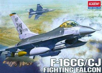 F-16CG/CJ Fighting Falcon · AY 12415 ·  Academy Plastic Model · 1:72