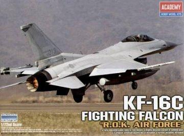 KF-16C Fighting Falcon R.O.K. Air Force · AY 12418 ·  Academy Plastic Model · 1:72