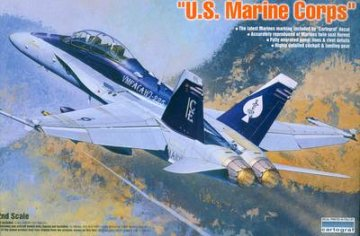 F/A-18D Hornet `U.S. Marine Corps` · AY 12422 ·  Academy Plastic Model · 1:72