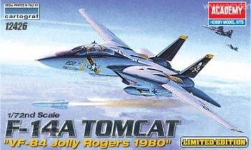 F-14A Tomcat ´VF-84 Jolly Rogers 1980´ · AY 12426 ·  Academy Plastic Model · 1:72