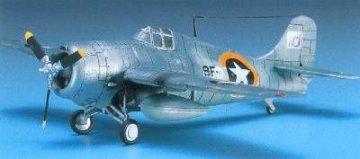 F4F-4 Wildcat · AY 12451 ·  Academy Plastic Model · 1:72