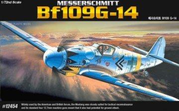 Messerschmitt BF 109 G-14 · AY 12454 ·  Academy Plastic Model · 1:72