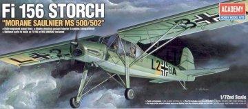 Fi.156 Storch · AY 12459 ·  Academy Plastic Model · 1:72