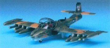 A-37B Dragon Fly · AY 12461 ·  Academy Plastic Model · 1:72