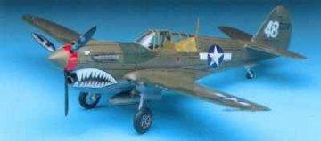 P-40 M/N Warhawk · AY 12465 ·  Academy Plastic Model · 1:72