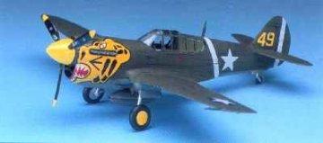 P-40E Warhawk · AY 12468 ·  Academy Plastic Model · 1:72