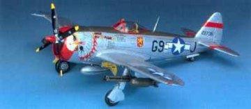P-47D Thunderbolt (Bubbletop) · AY 12491 ·  Academy Plastic Model · 1:72