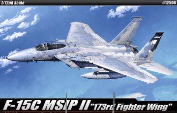 F-15C · AY 12506 ·  Academy Plastic Model · 1:72
