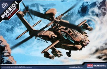 AH-64D Block II · AY 12514 ·  Academy Plastic Model · 1:72