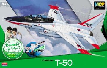 ROKAF T-50 Trainer MCP · AY 12519 ·  Academy Plastic Model · 1:72