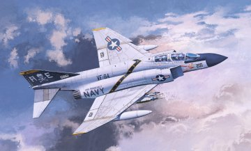 USN F-4J VF-84 Jolly Rogers · AY 12529 ·  Academy Plastic Model · 1:72