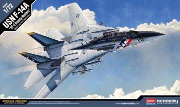 F-14A USN VF-2 Bounty Hunters · AY 12532 ·  Academy Plastic Model · 1:72
