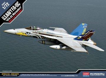 F/A-18C USN VFA-82 MARAUDERS  - Limited Edition · AY 12534 ·  Academy Plastic Model · 1:72